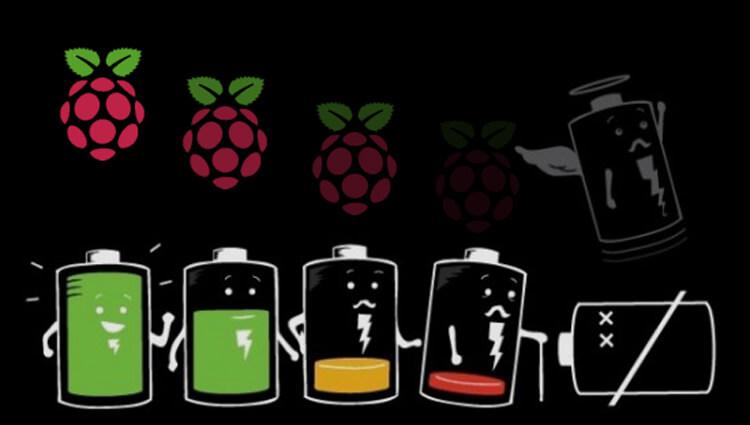 Consumi energetici dei vari modelli di Raspberry pi