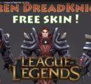 Garen Darkknight free skin ! – League of legends lol 2016
