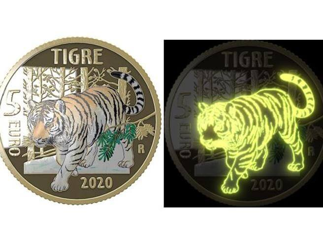 Ecco la nuova moneta da 5 euro coniata dalla Zecca Italiana